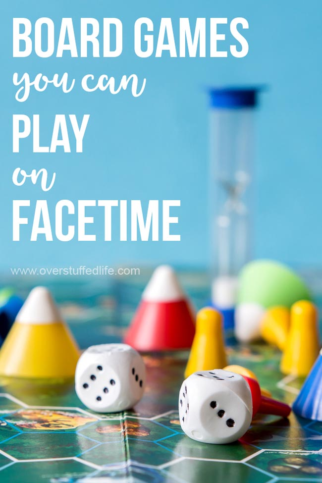 14 Board Games to Play on FaceTime Board games, Games