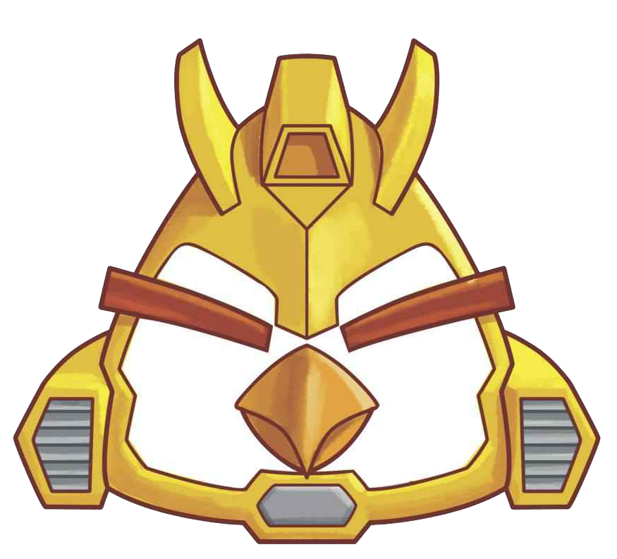 Bumblebee Head Transparent Png Angry Birds Transformers Coloring Pages Angry Birds Star Wars