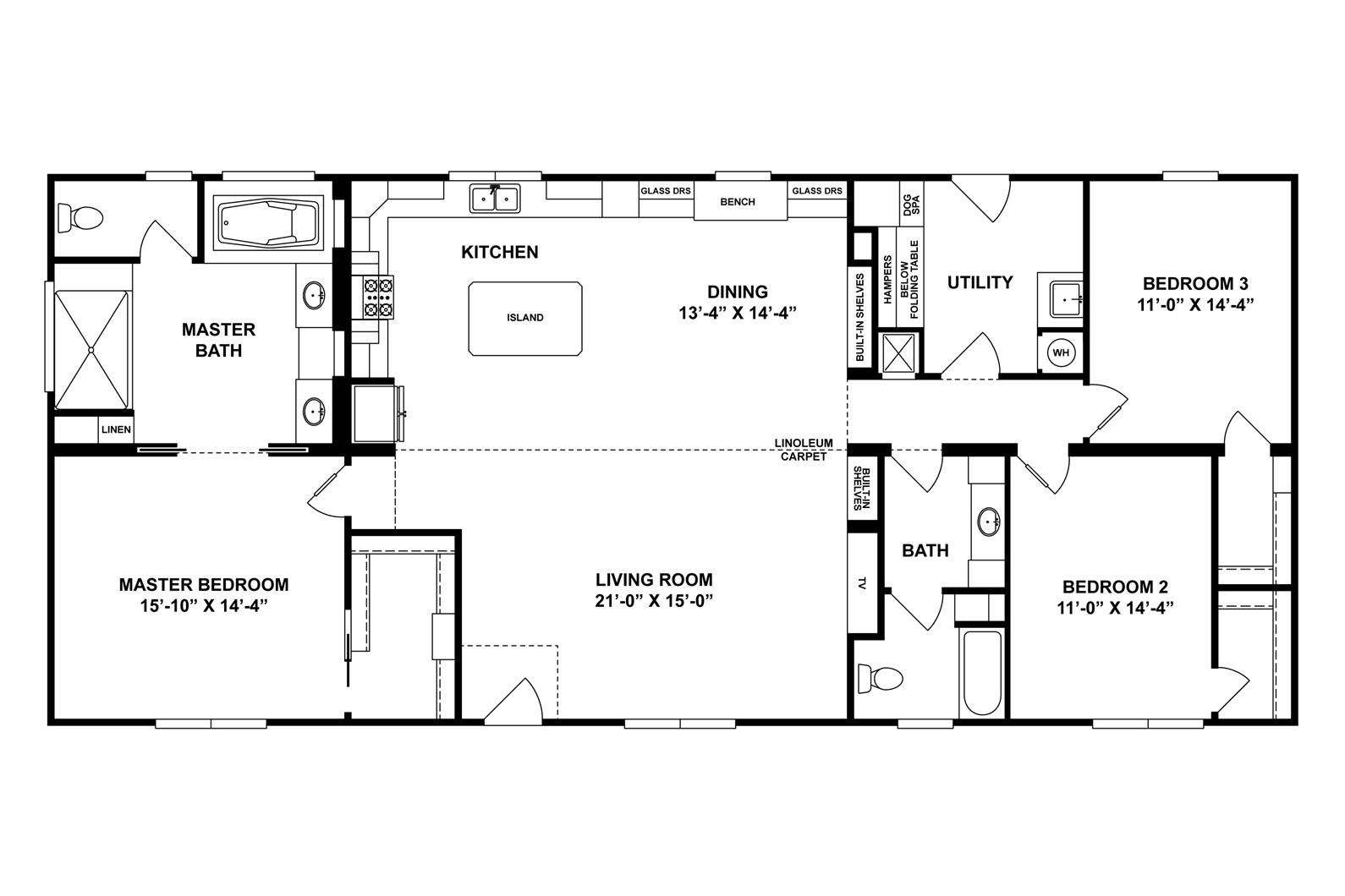 Interactive Floor Plan Floor Plans Clayton Homes House Floor Plans