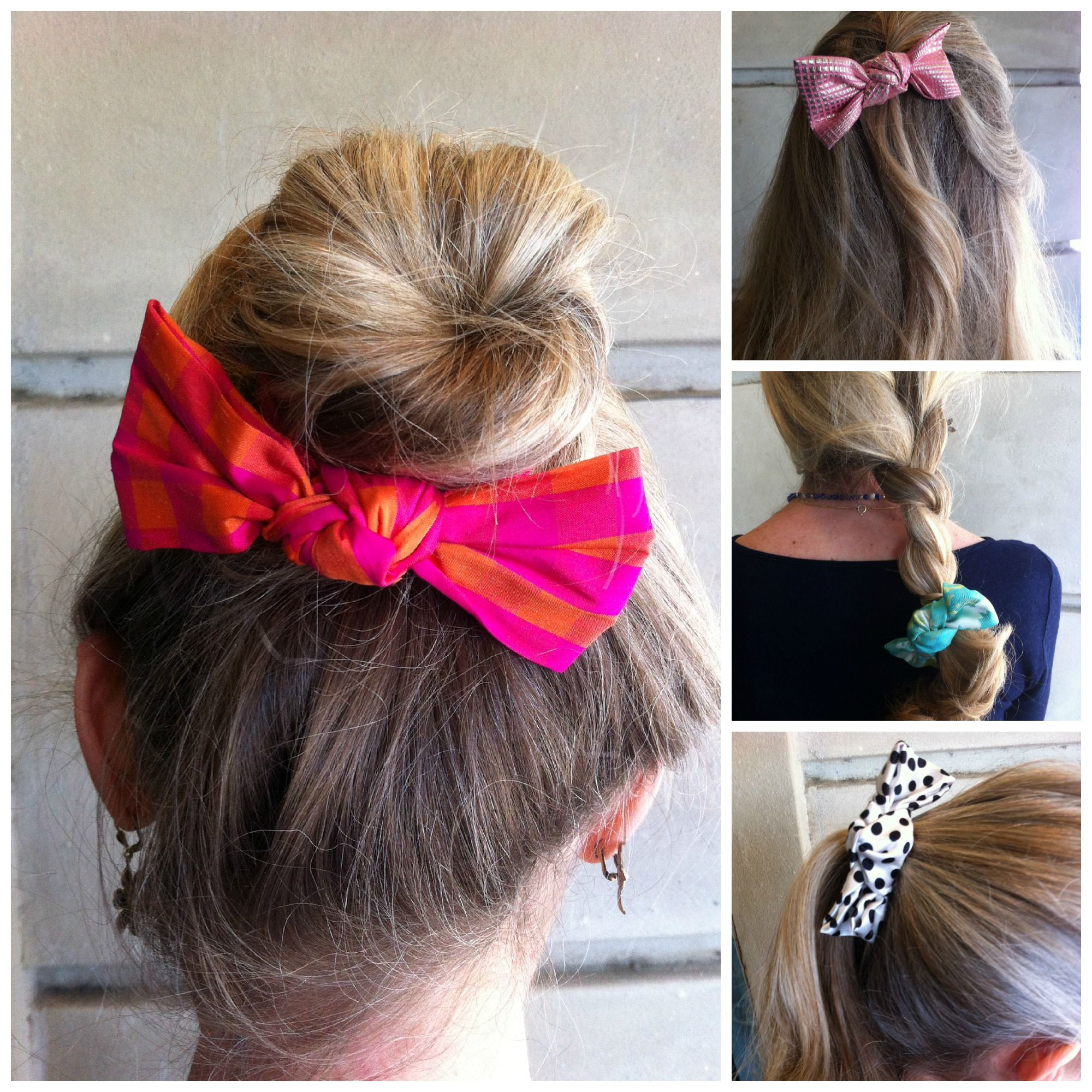 The cutest new bows for many different hairstyles accessories
