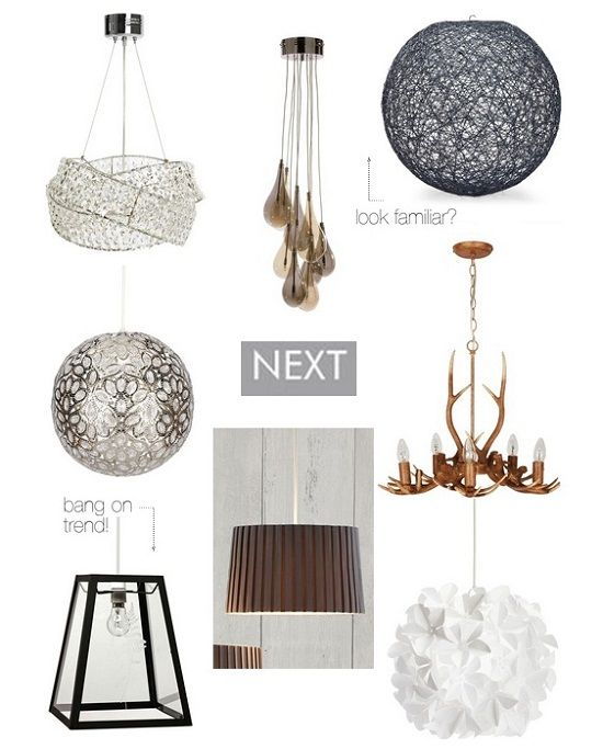 Next Home Easy Fit Pendant L&s  sc 1 st  Pinterest & Easy Fit Pendant Lights from the High Street | Pendant lamps ...