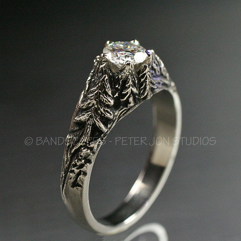 Wedding Rings And Bands Jewelry With Natural Themes By Bandscapes