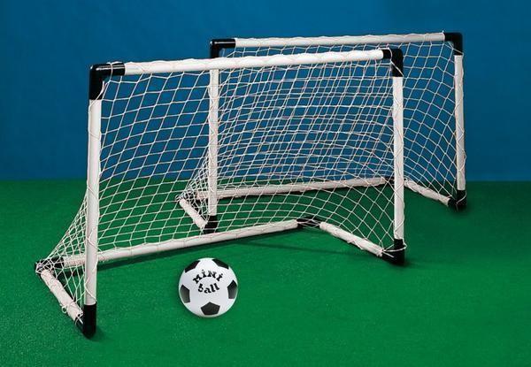 Mondo Fussballtor Set 2x Mit Netz Ball Tor Kinder