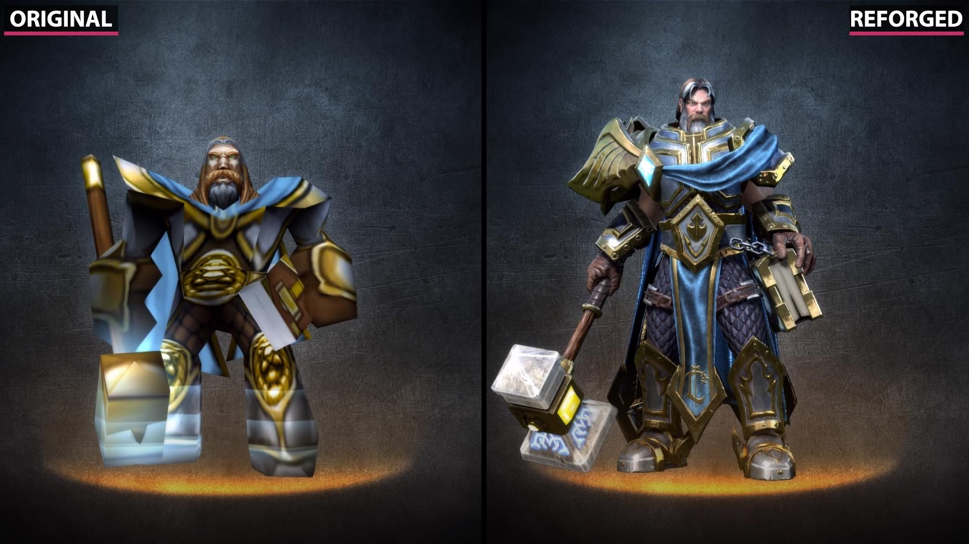▷ Warcraft 3 and Warcraft 3 Reforged Comparison (UNITS + HEROES