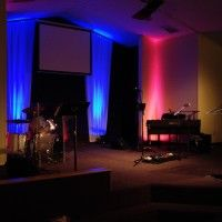 small church stage design | church | Pinterest | Church stage ...
