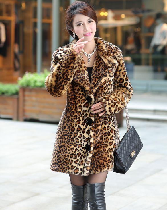 af507a1061d Hot-selling New winter Korean faux fur coat
