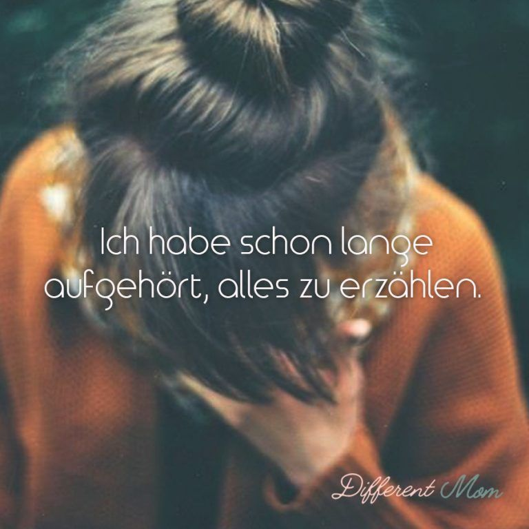 Depressed Sayings and Quotes on Anxiety and Depression - Different Mom - Sprüche - Zitate