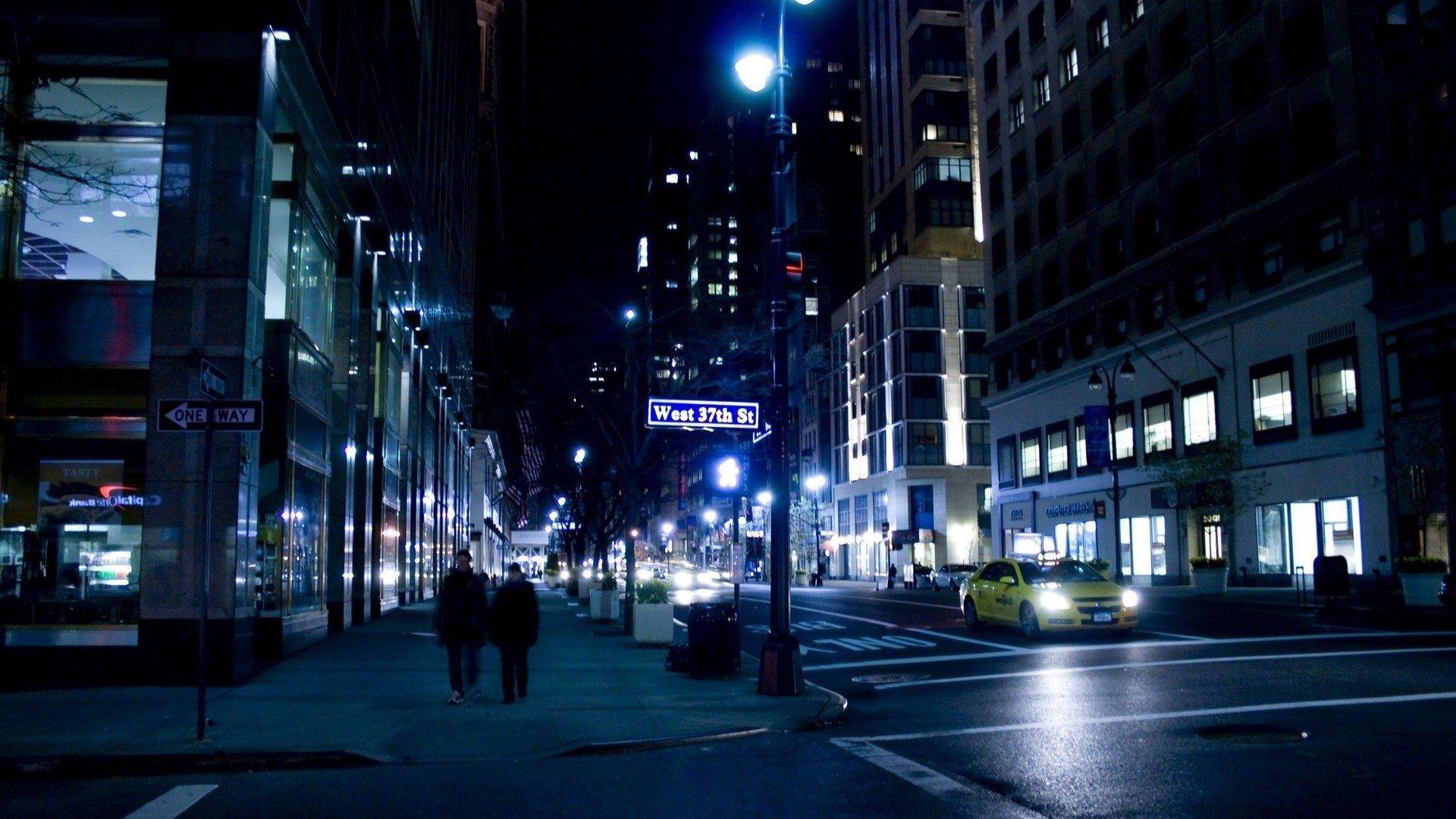 Street New York City Hd World Wallpapers Night City Tokyo Night New York Night