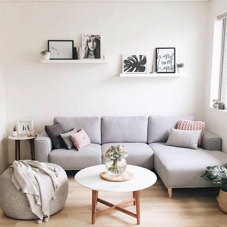 85 moderne minimalistische Wohnzimmer-Dekor-Ideen #modernlivingroomideas