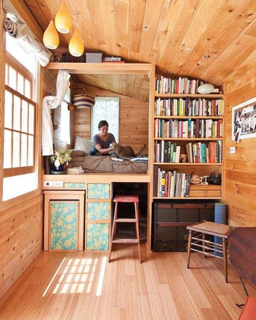 Bom Dia Livros Euamoler Tiny House Interior Design Tiny House Living Small House Plans
