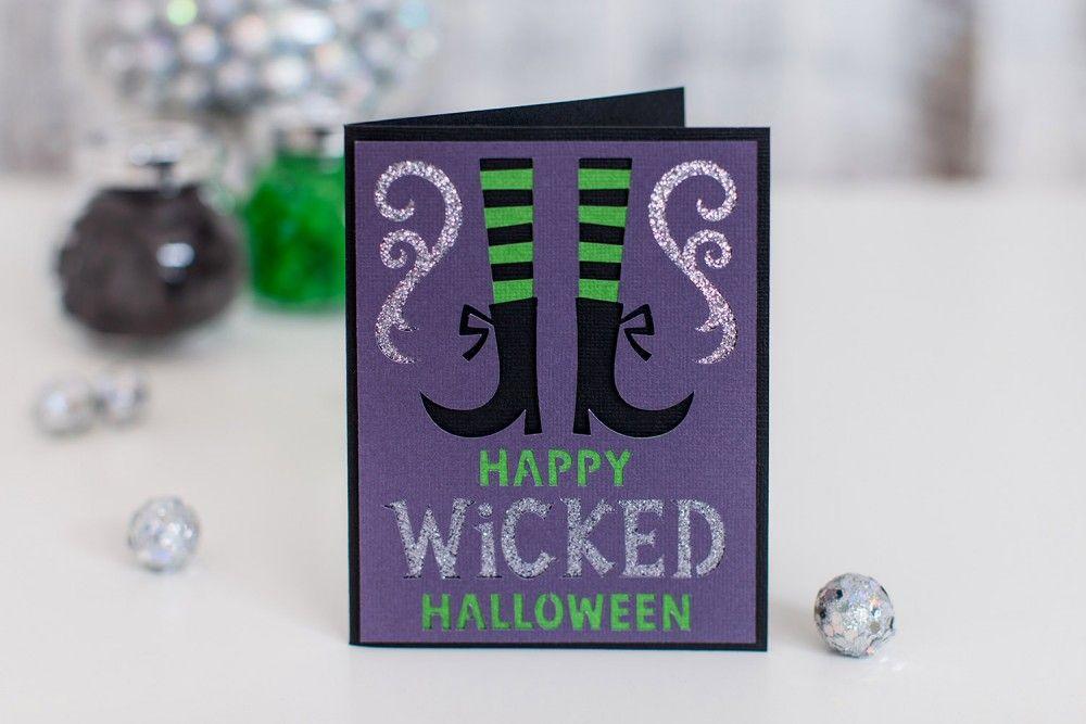 Wicked Halloween Card