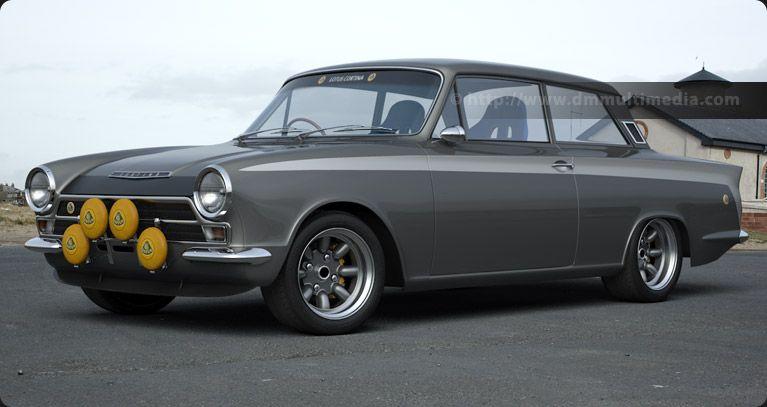 Silver Lotus Cortina By The Sea Classic Cars British Cars Mk1