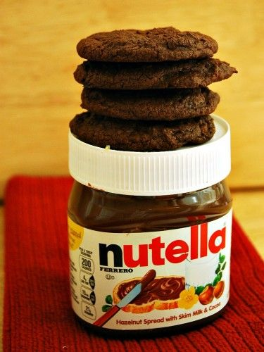 #Nutella Chocolate Chip #Cookies #12DaysofCookies