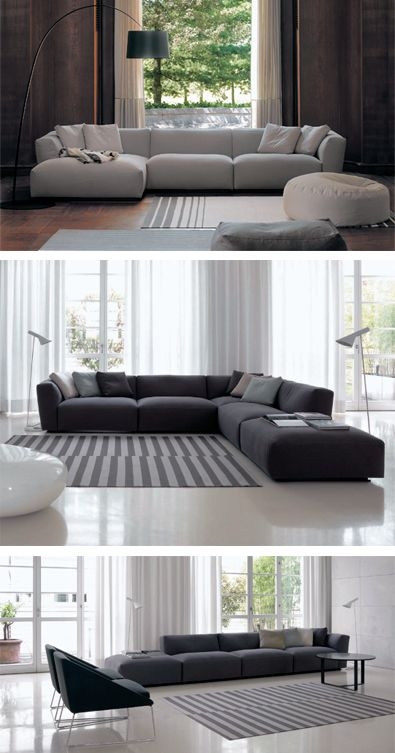 Modern Furniture Lighting Spencer Interiors Modern Italian Sectionals Living Room Sofa Sofa Design Interior Design