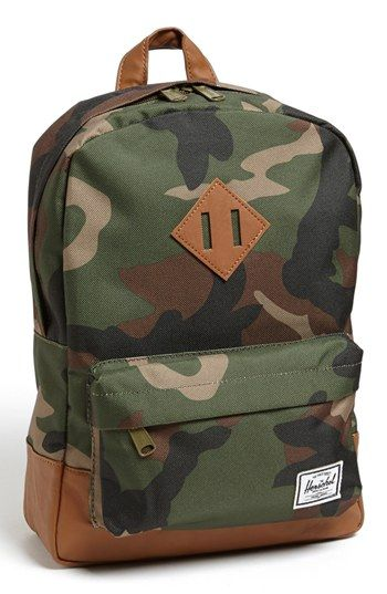 Herschel Supply Co. 'Heritage - Camo' Backpack (Kids) | Herschel ...