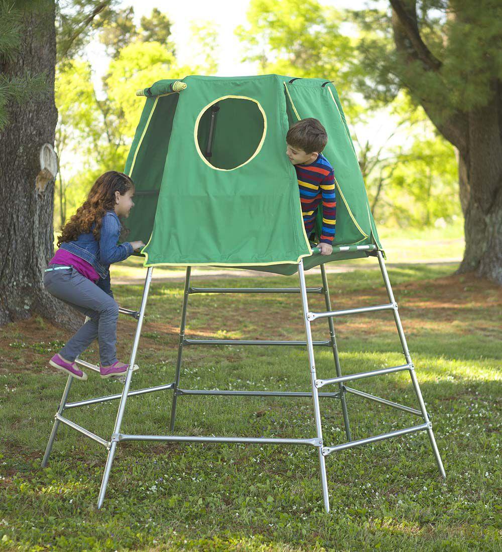Climbing Explorer Den Backyard Toys Kids Outdoor Play Areas
