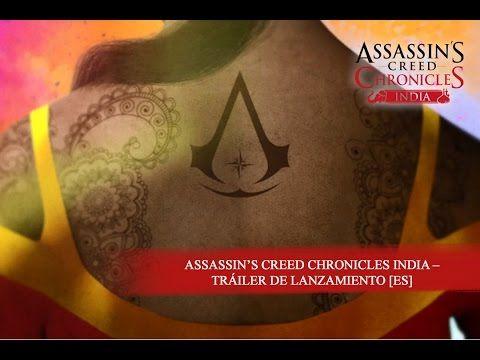 Tráiler de lanzamiento de Assassin's Creed Chronicles: India - http://www.juegosycosplays.com/juegos/noticias/trailer-de-lanzamiento-de-assassins-creed-chronicles-india-123