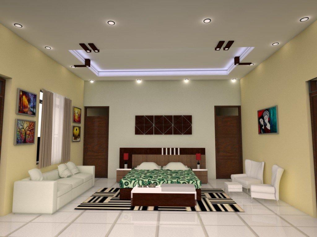 Simple False Ceiling Design For Rectangular Living Room ...
