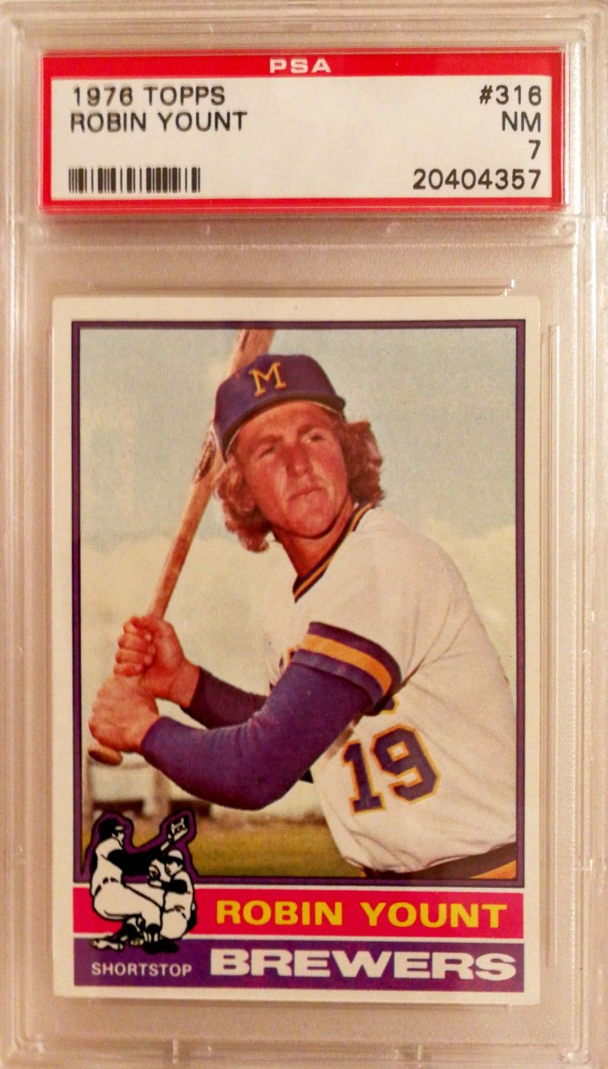 1976 topps robin yount with images baseball cards