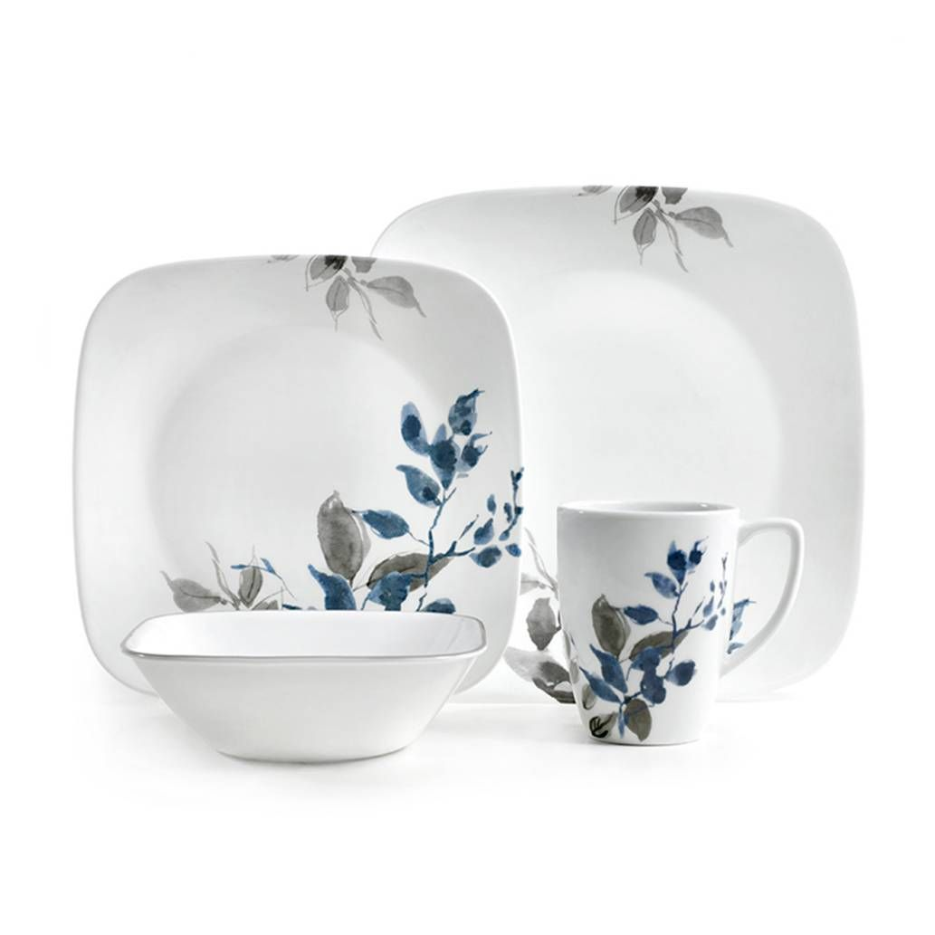 Corelle Boutique Kyoto Night 16 Piece Dinnerware Set Corelle