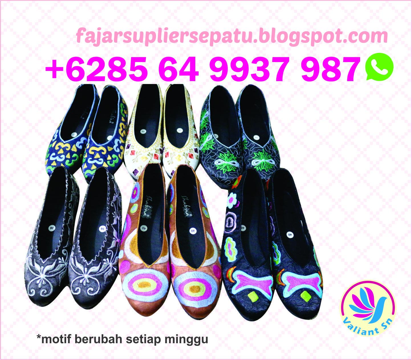 Grosir Sepatu Bordir Purwokerto Grosir Sepatu Bordir Bali Grosir