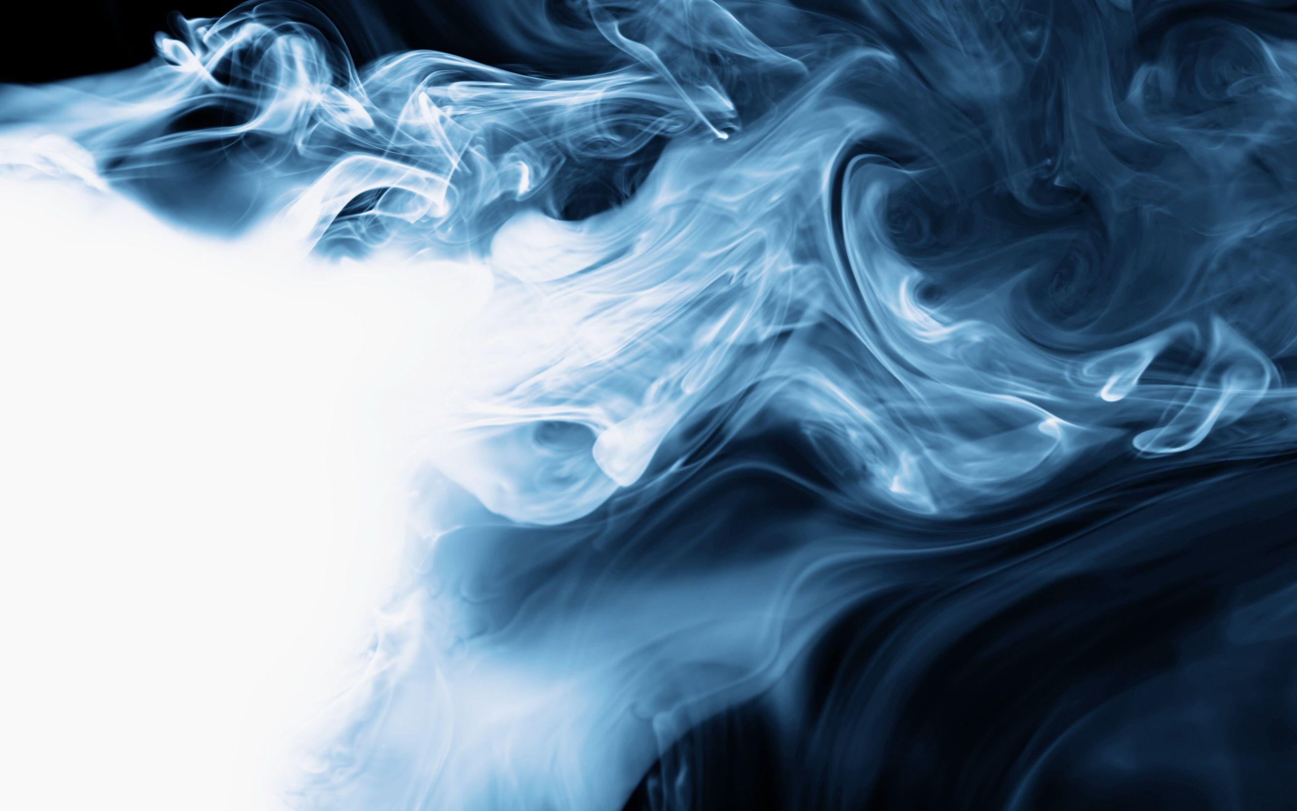 Blue Wall Art Smoke 3d Art Abstract Blue Smoke Smoke Wallpaper Smoke Pictures Abstract Wallpaper
