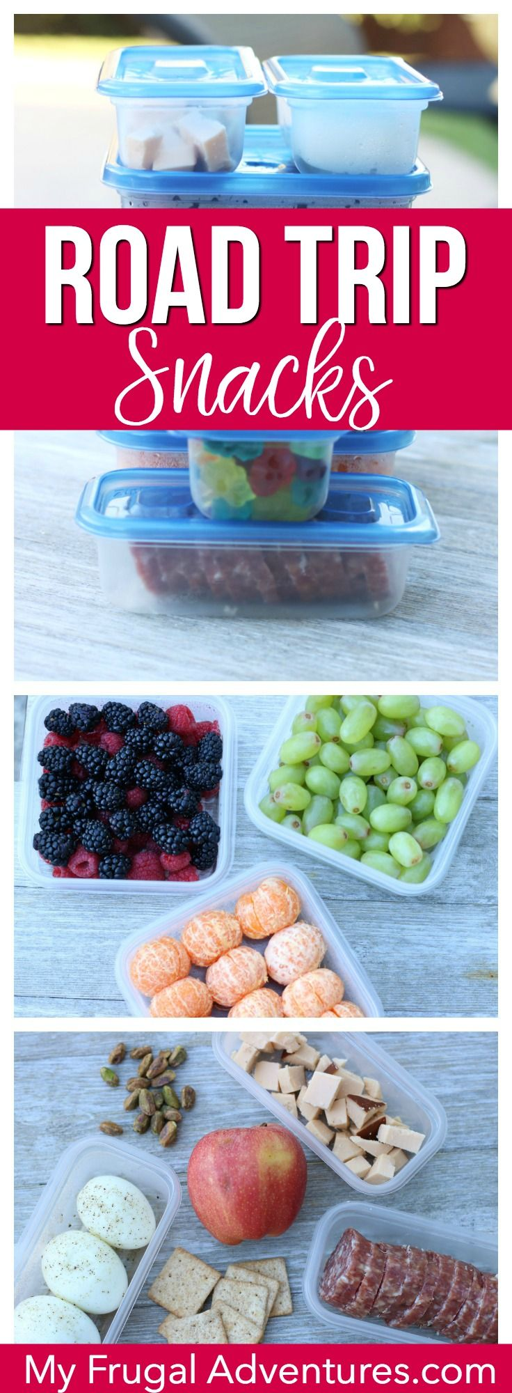 road trip snack ideas | travel destinations and tips | pinterest
