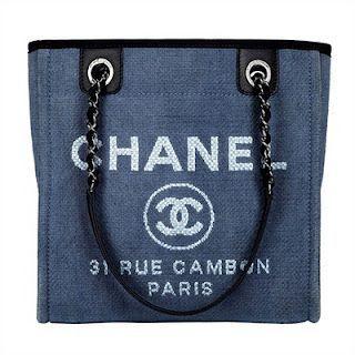 Chanel Tote Demin Bag