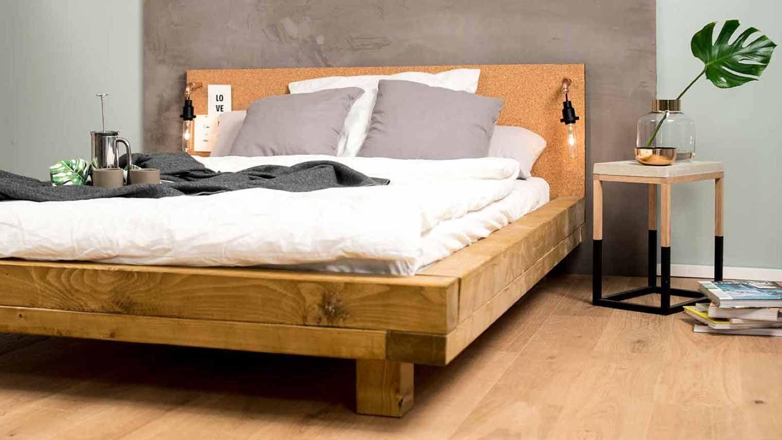 Hochwertige Mobel Selbst Gebaut Obi Selbstbaumobel Schlafzimmer Deko Bett Bettwasche Schwarz