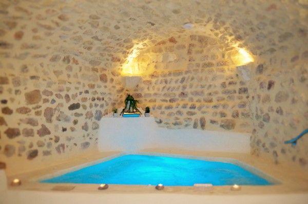 Wellness area - Aqualya Spa Saint-Paul-Trois-Chateaux France - location vacances belgique avec piscine