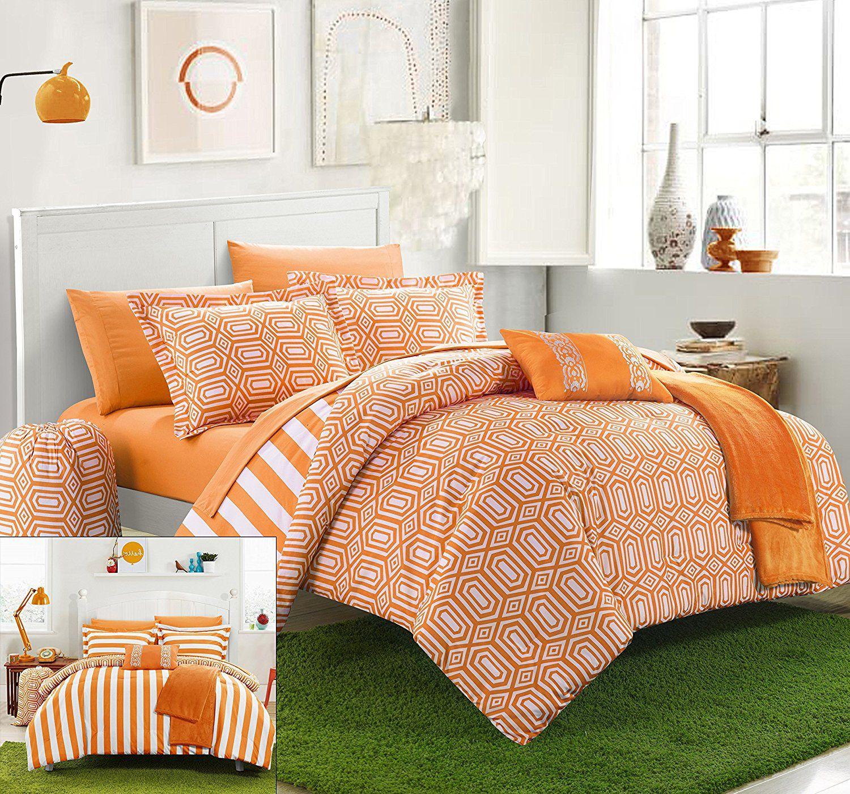 orange and peach bedding sets sale  comforter sets