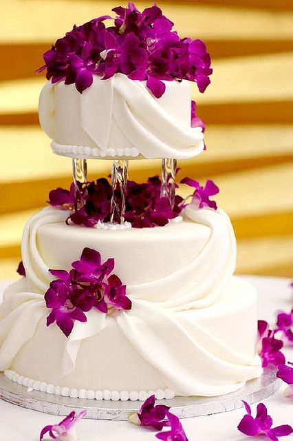 dendrobium orchids and lovely draping