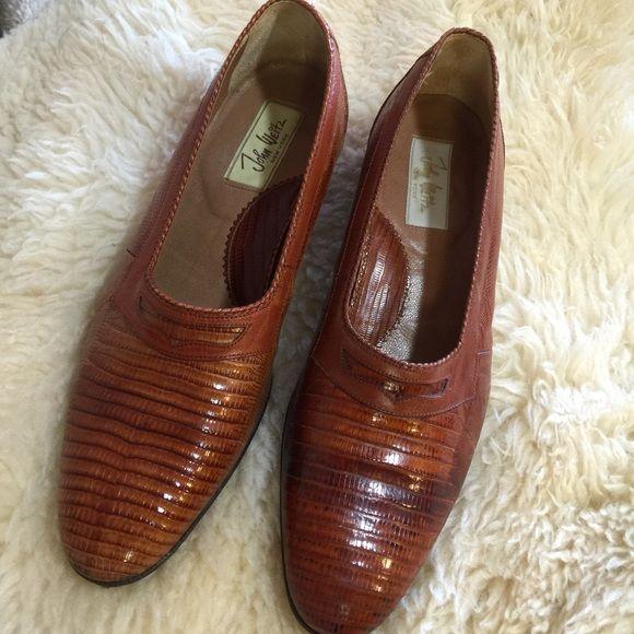 JOHN WEITZ Leather shoes