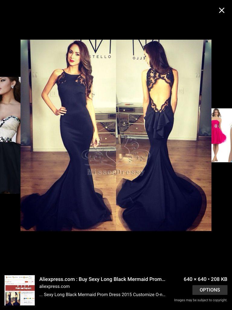 Amazing mermaid laced black dress prom pinterest prom and black