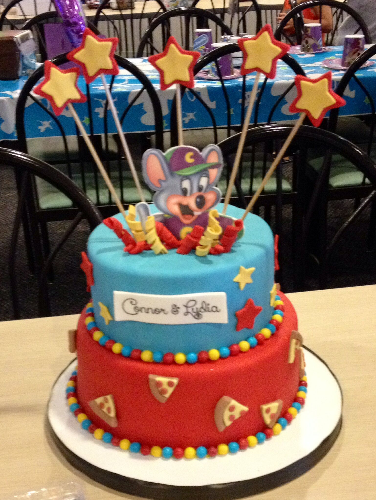 Chuckie Cheese Birthday Cake My Creations Pinterest
