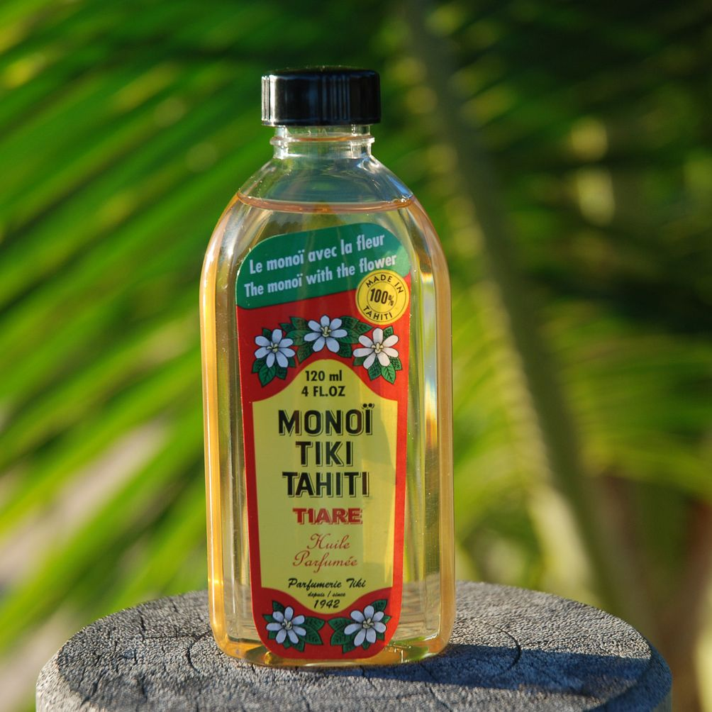 Original Monoi Tiki Tahiti Parfum Fleur De Tiare Depuis 1942 Par La Parfumerie Tiki A Faaa Tahiti Polynesie Francaise Mo Tiki Tahiti Monoi Monoi Tiki Tahiti