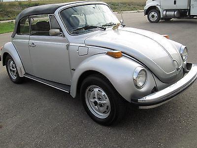 EBay: Volkswagen: Beetle   Classic 2 Door VW Bug Classic Convertible Fuel  Injected Sports