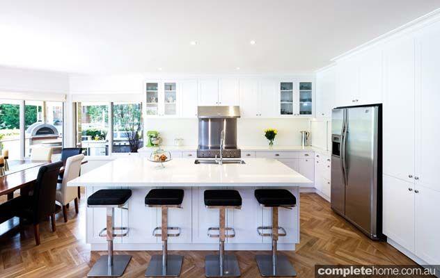Hampton Style Kitchen Designs Impressive This Hamptons Style Kitchen Design From Kitchenspeter Gill Design Inspiration