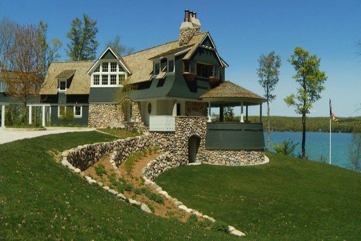 Amazing Northern Michigan Homes Walloon Lake Legacy Home Walloon Lake Lake House Northern Michigan