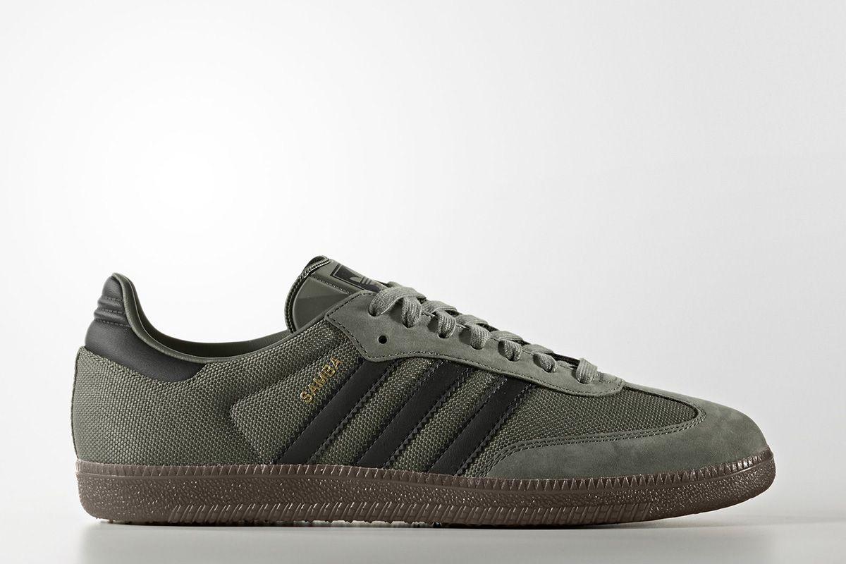 green adidas samba scarpe da ginnastica