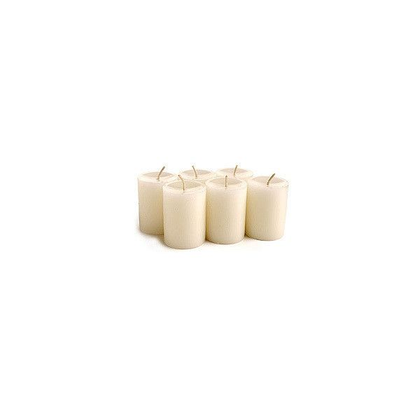 Unscented Votives (450 UYU) ❤ liked on Polyvore featuring home, home decor, candles & candleholders, fillers, candles, decor, neutral fillers, fall fillers, fall home decor and autumn home decor