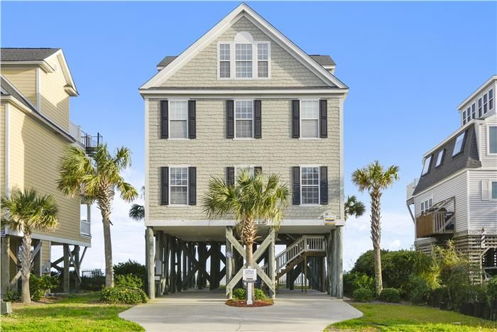 Elegant Vacation Rental, Garden City Beach SC. Ocean Front 5 Bedroom With Private  Pool Aka