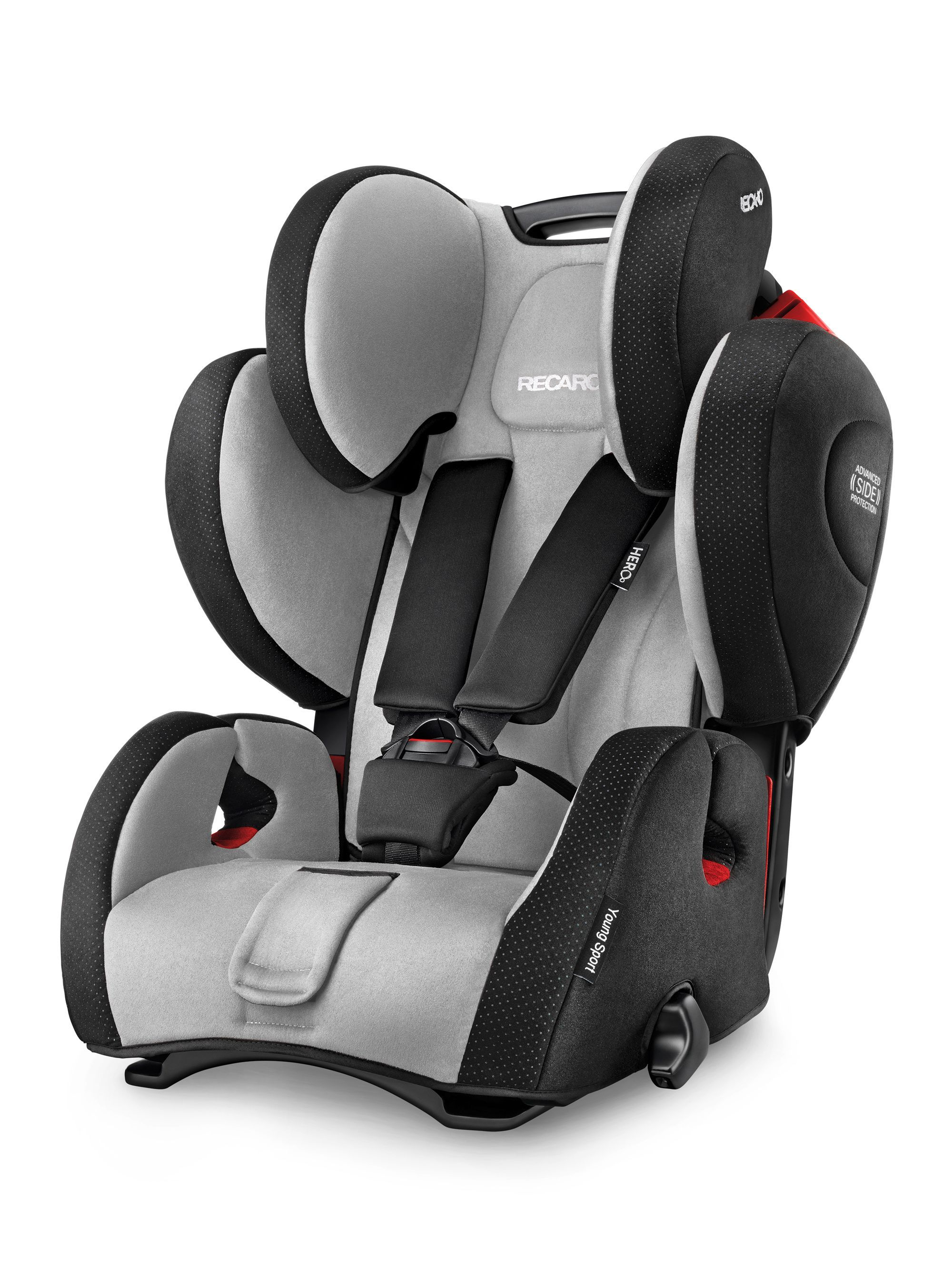 955b19c3a4ce Recaro Young Sport Hero Group 1-2-3 Car Seat - Graphite | babies ...