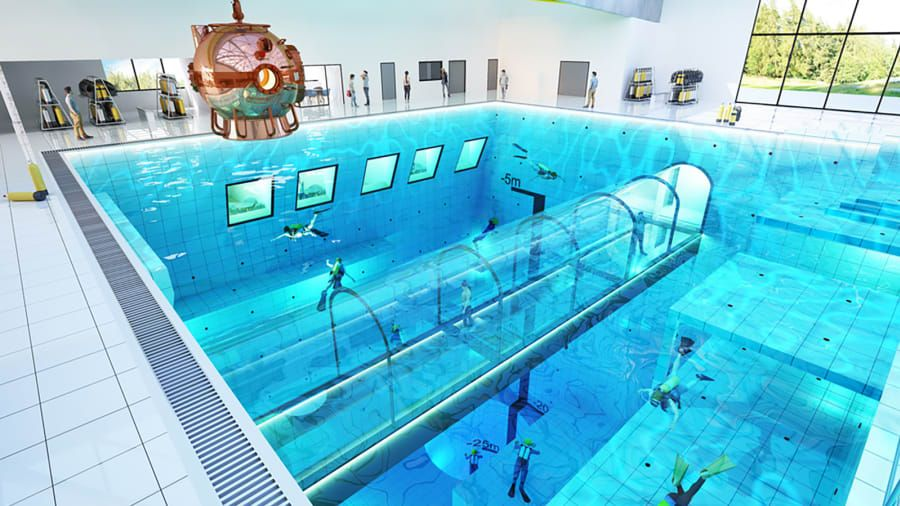 World S Deepest Pool To Open In Poland Deepest Swimming Pool