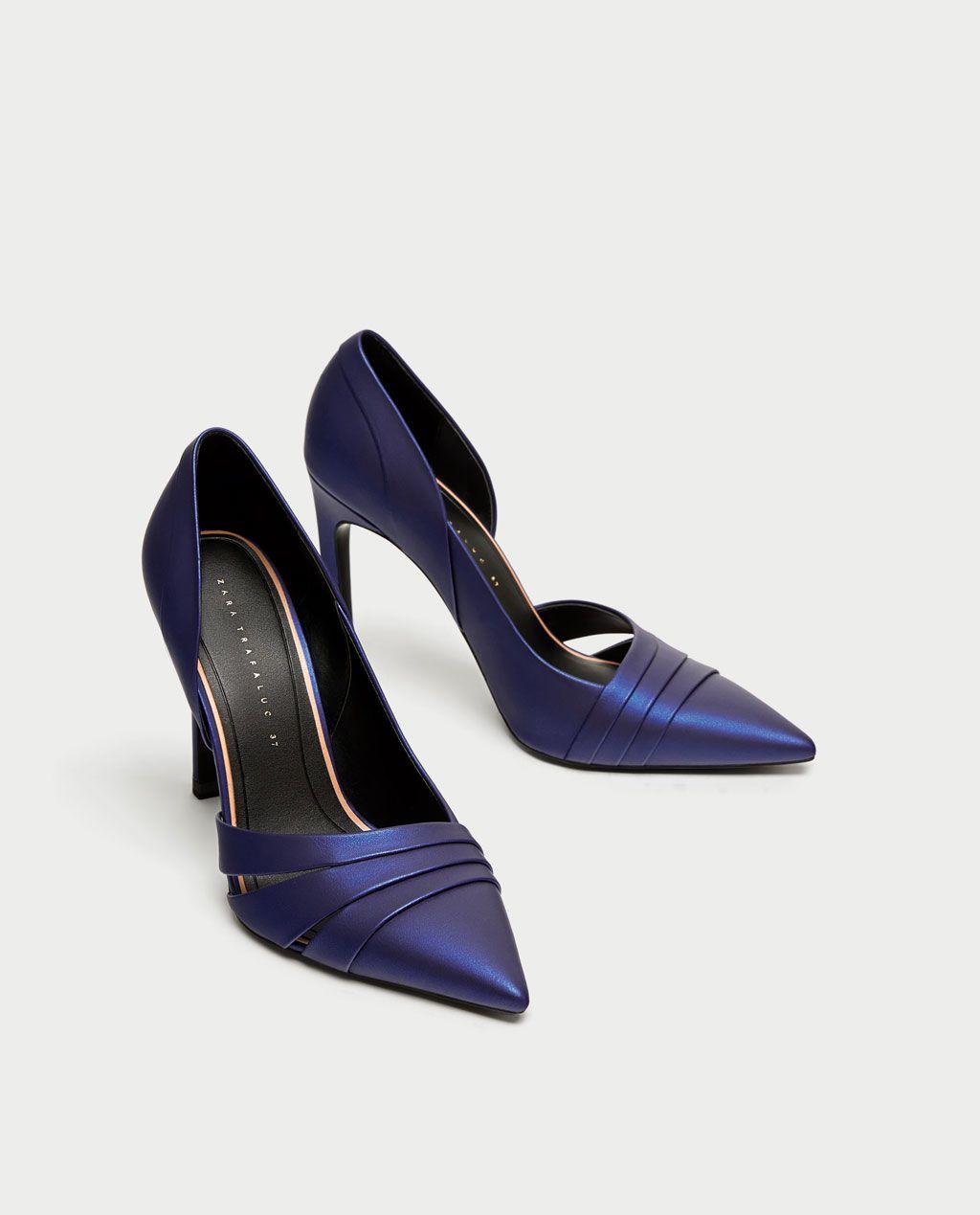 Zara Rous Asimétrico Todo Ecuador Ver Zapatos Mujer Salón qpg4xBwXX