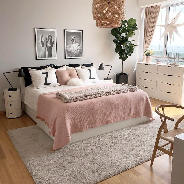 55 Pretty Pink Bedroom Ideas For Your Lovely Daughter 29 En 2020
