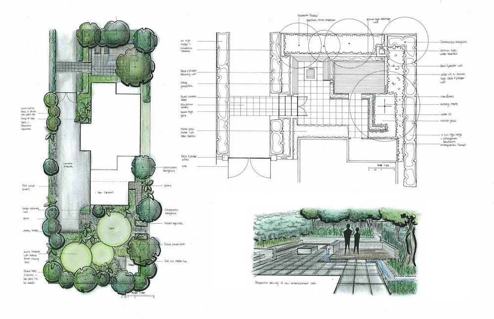 the master plan landscape design , Waikato, New Zealand