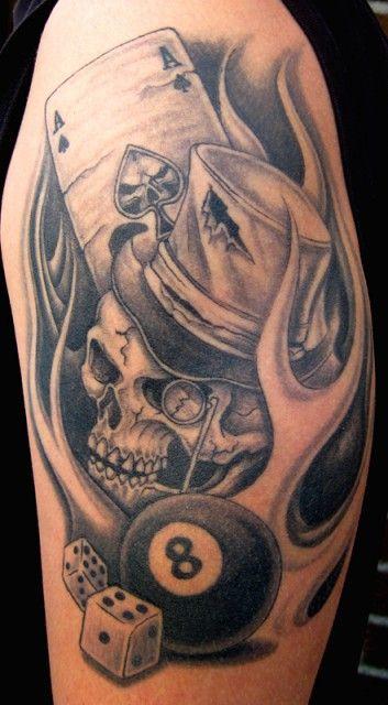 joker clown tattoo tattoo pinterest tattoo ideen. Black Bedroom Furniture Sets. Home Design Ideas