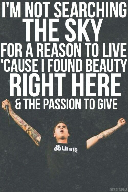 The Amity Affliction - Open Letter | ᎷᏌᏚᏆᏟ | Pinterest