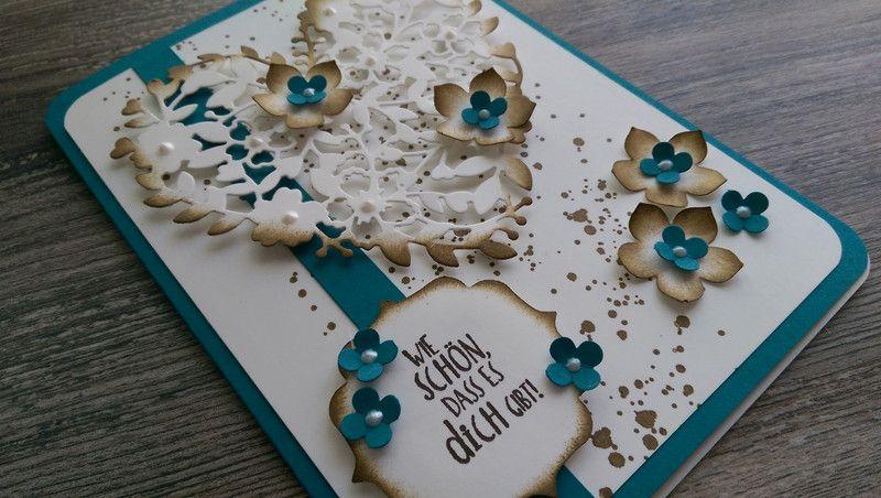 Liebe & Freundschaft - Karte, Hochzeit, Geburtstag, Einladung, Danke, Neu - ein Designerstück von Mein-Kreativpoint bei DaWanda